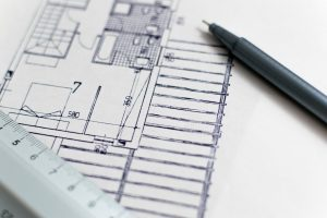 construction plan for a domestic home